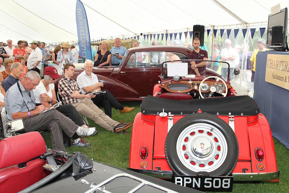 Sherborne Castle Car Show