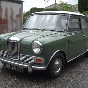 A 1968 Riley Elf Mk III Automatic, two owners, under 32,000 miles from new £3,000 - 4,000 at Charterhouse - 2