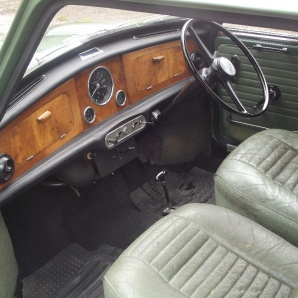 A 1968 Riley Elf Mk III Automatic, two owners, under 32,000 miles from new £3,000 - 4,000 at Charterhouse - 4