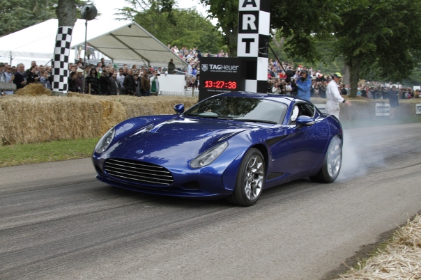 AC Zagato from 'Brooklands Motor Company' for the Show
