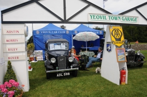 Award winning stand - Yeovil Car Club