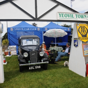 Award winning stand - Yeovil Car Club