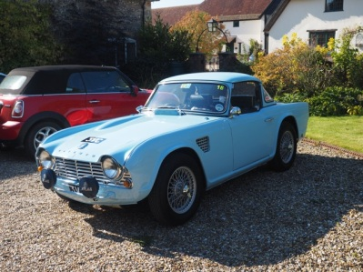 Triumph Tr4 3vc Rally Car Still Taking To The Road Classic Supercars
