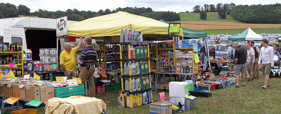 Trade Stands For : Trade stands & autojumble classic & supercars