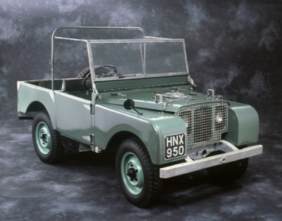 Land Rover 1948 Prototype