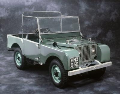 Land Rover 1948 Prototype
