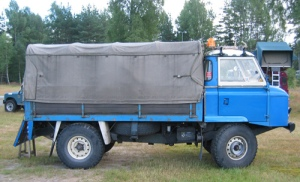 Land Rover Series IIB Forward Control